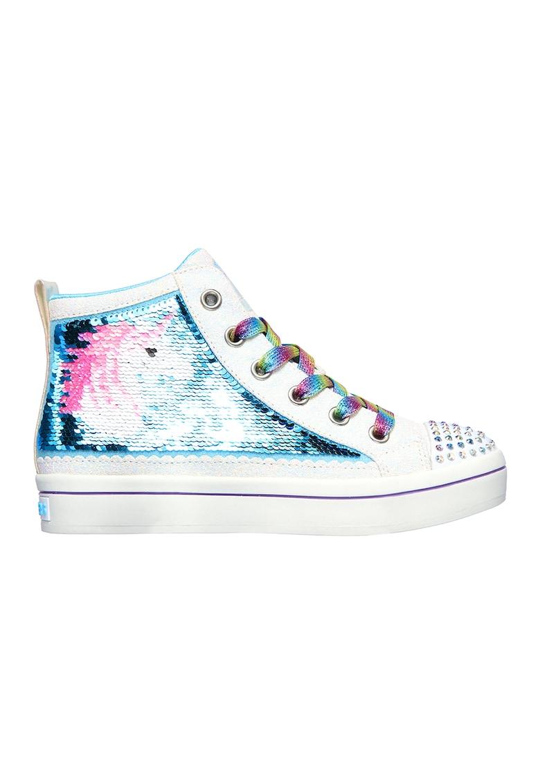 Pantofi sport cu paiete Twi-Lites 2.0 Unicorn Surpris