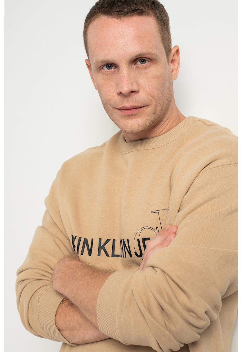 CALVIN KLEIN JEANS Bluza sport din amestec de bumbac organic – cu imprimeu logo