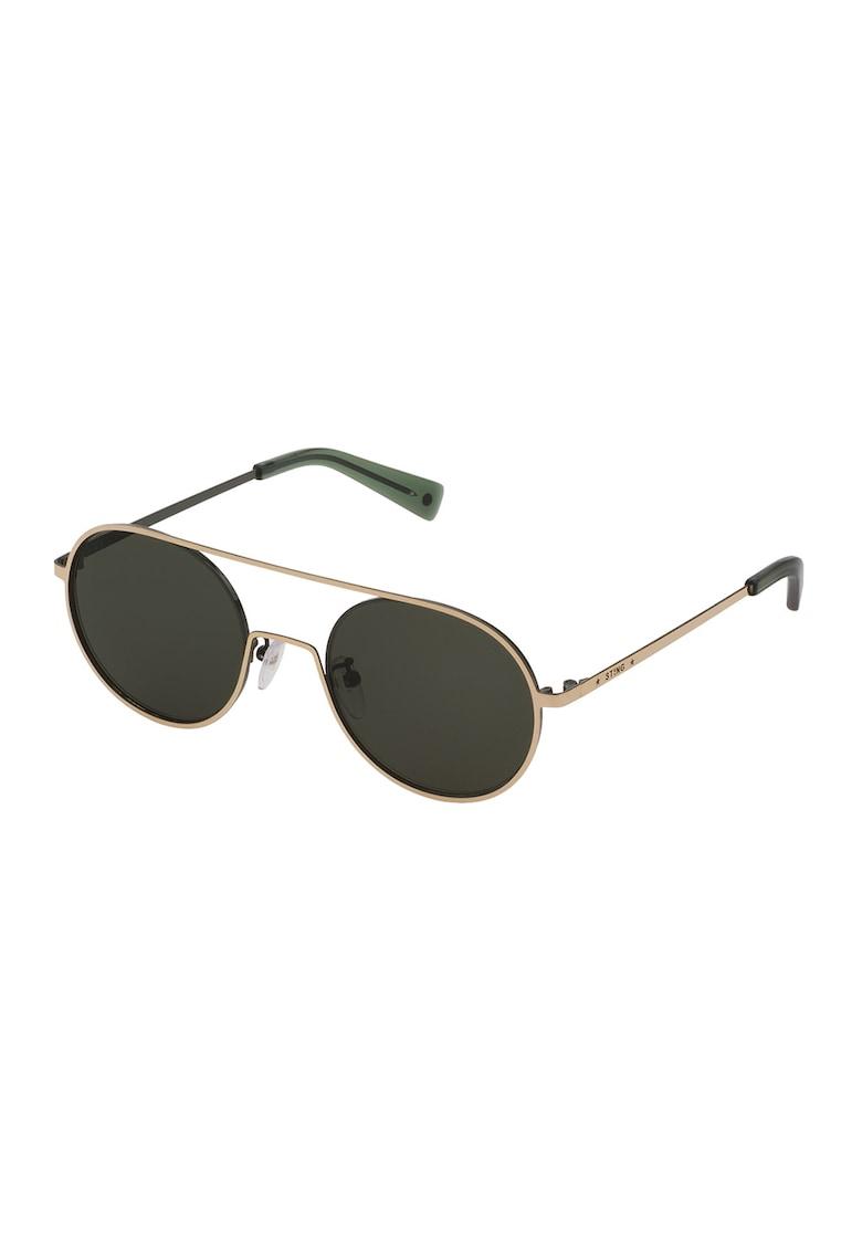 STING Ochelari de soare unisex cu lentile ovale