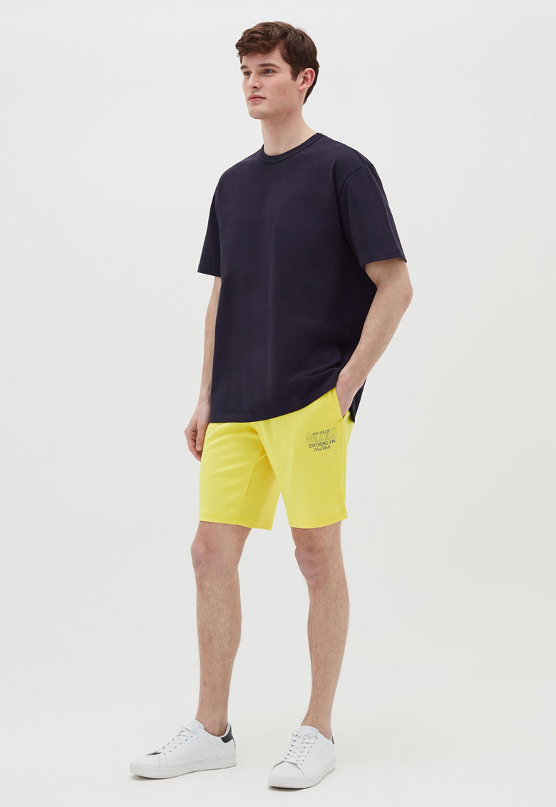 OVS Pantaloni scurti cu talie elastica