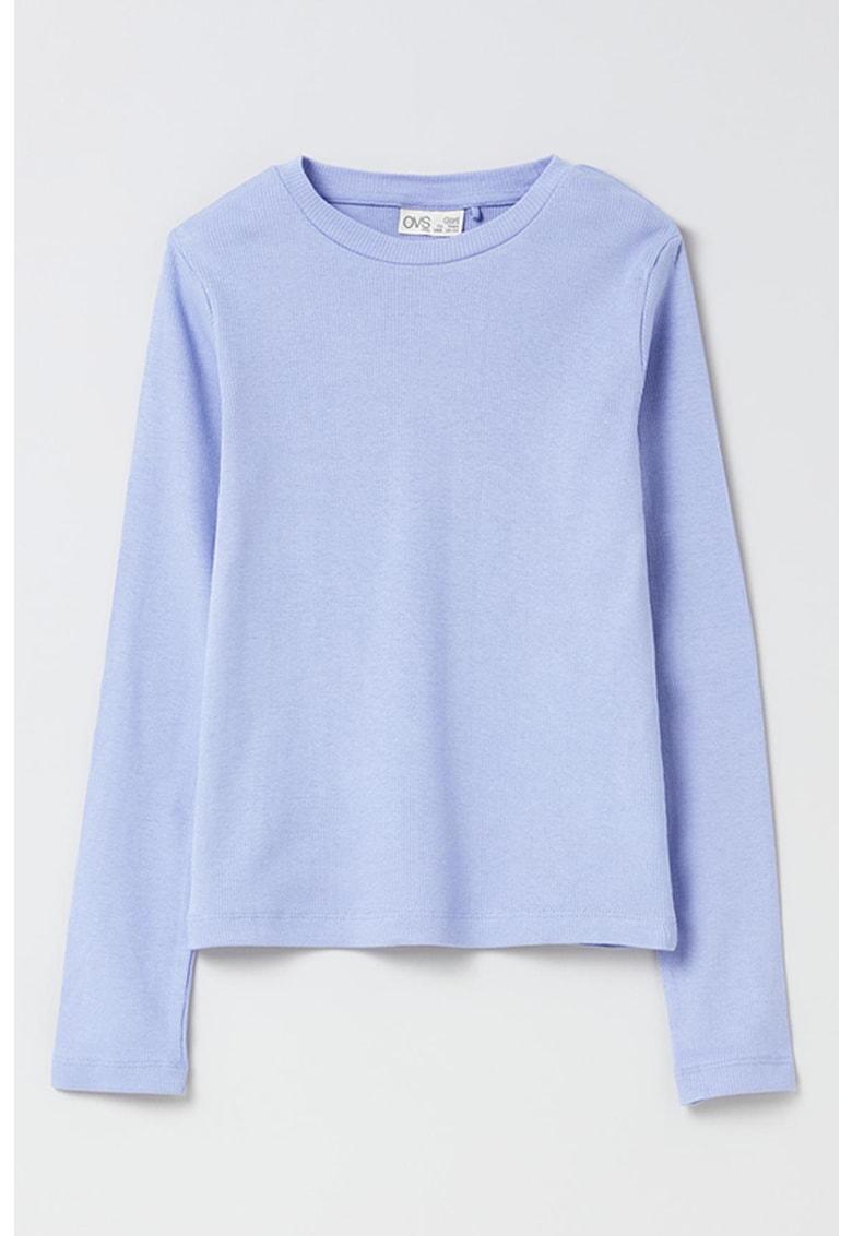 OVS Bluza de bumbac cu aspect striat