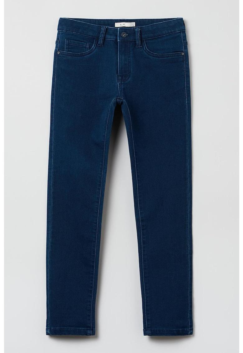 OVS Pantaloni slim fit din amestec de bumbac