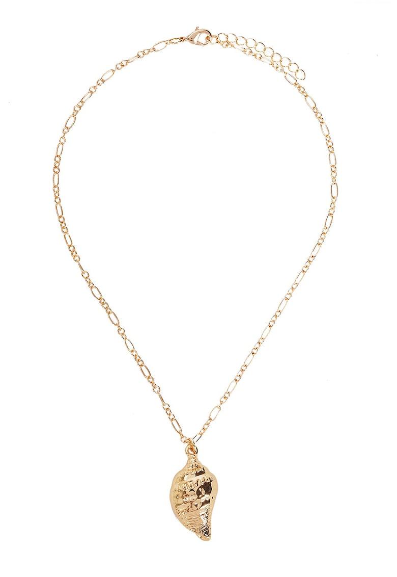 PARFOIS Colier de lant cu pandantiv in forma de scoica