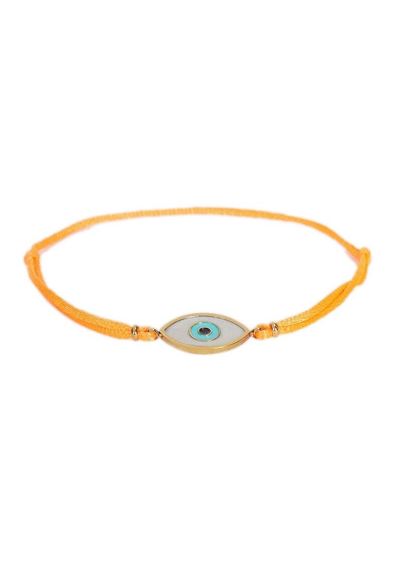 PARFOIS Bratara cu nod glisant si talisman Evil-Eye