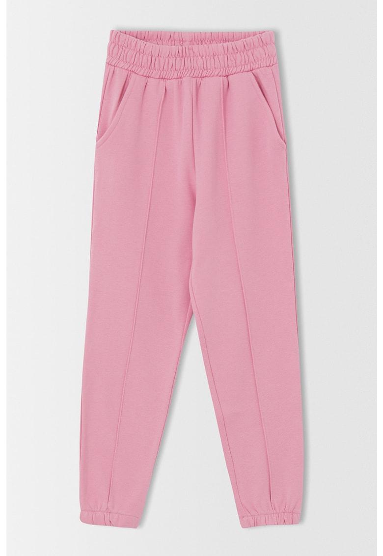 DeFacto Pantaloni sport cu terminatii elastice