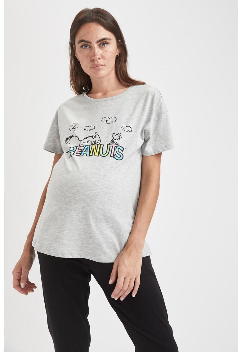DeFacto Tricou cu imprimeu pentru gravide