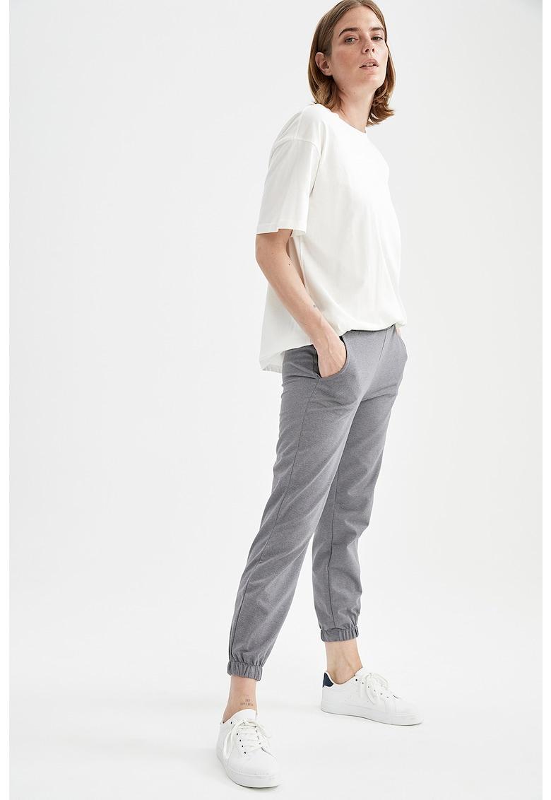 DeFacto Pantaloni sport cu buzunare laterale
