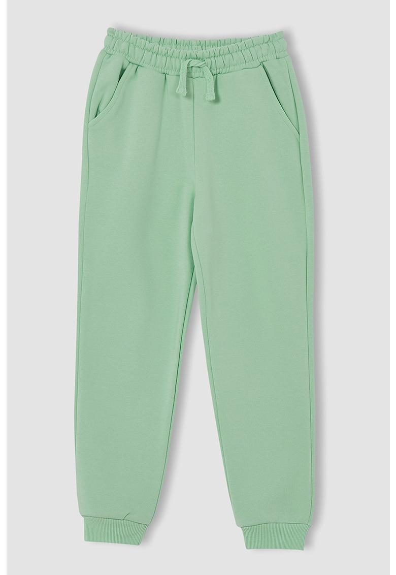 DeFacto Pantaloni sport cu snur in talie
