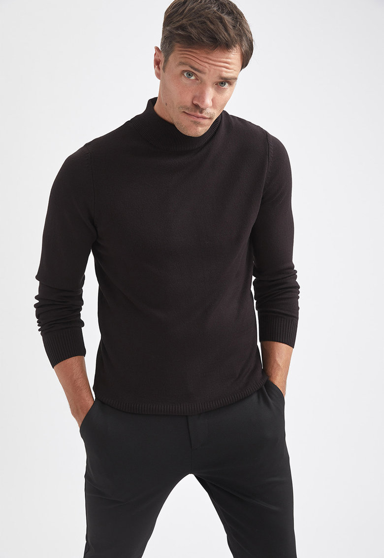 DeFacto Set de pulovere tricotate fin – 2 piese