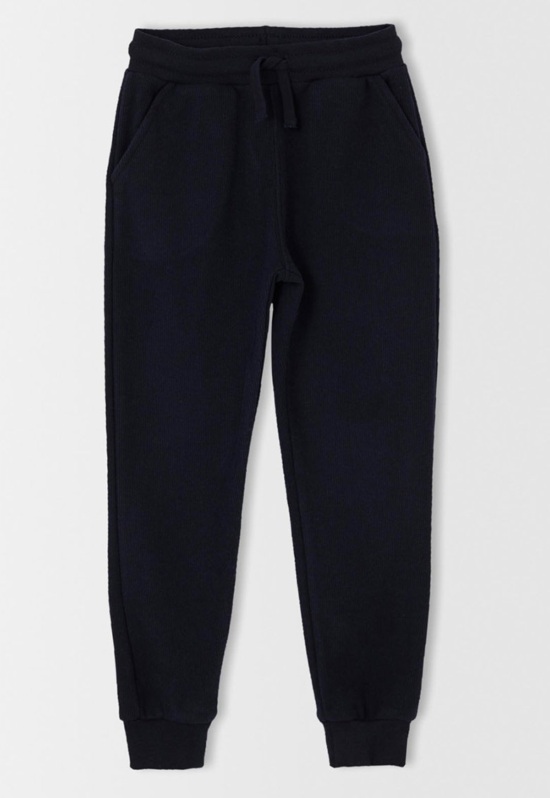 DeFacto Pantaloni sport relaxed fit cu snur in talie