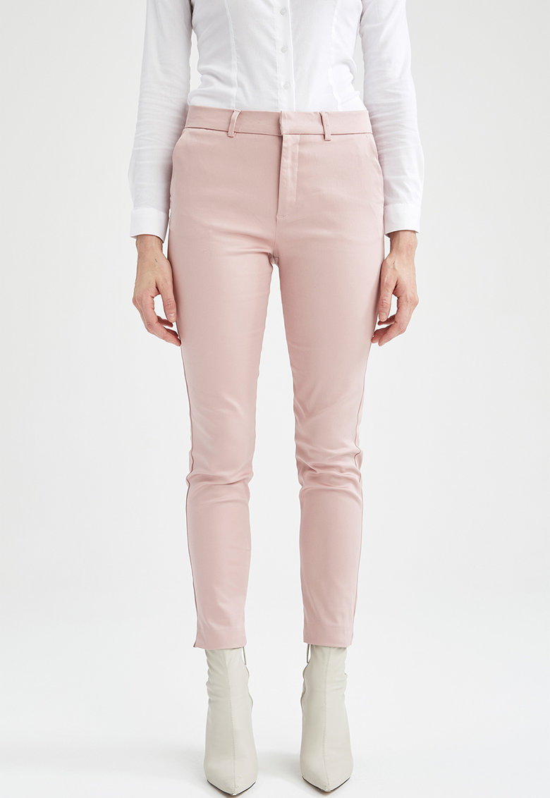 DeFacto Pantaloni crop chino slim fit