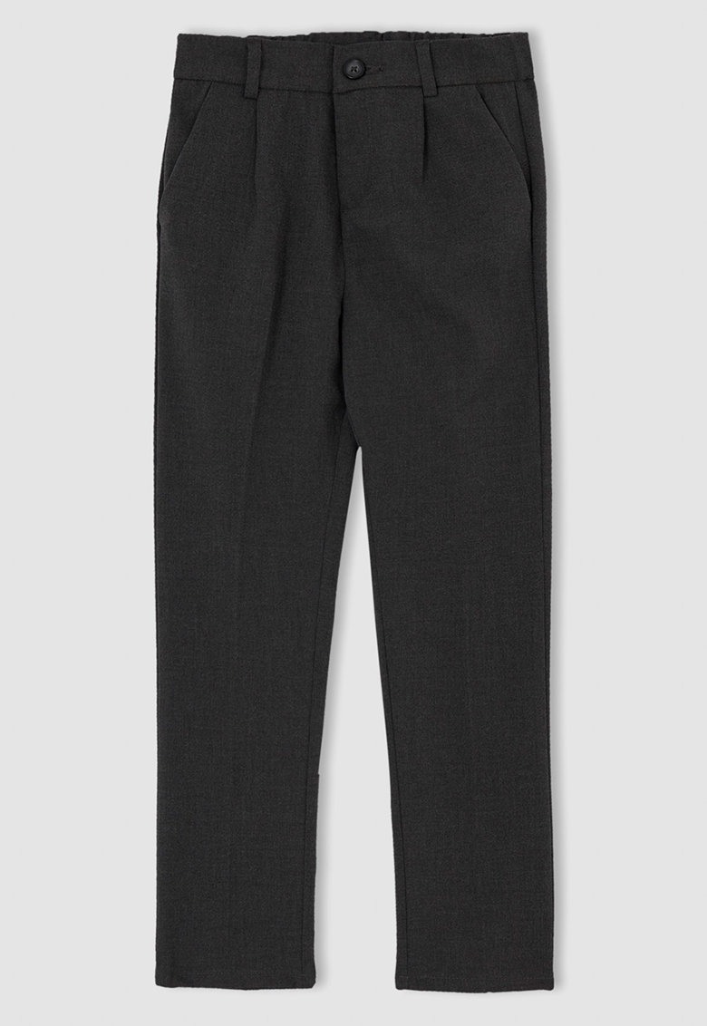 DeFacto Pantaloni conici cu talie inalta