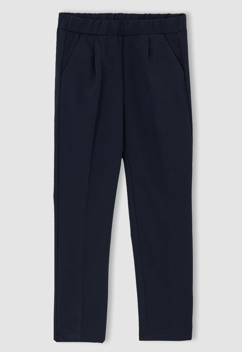 DeFacto Pantaloni regular fit cu pliuri