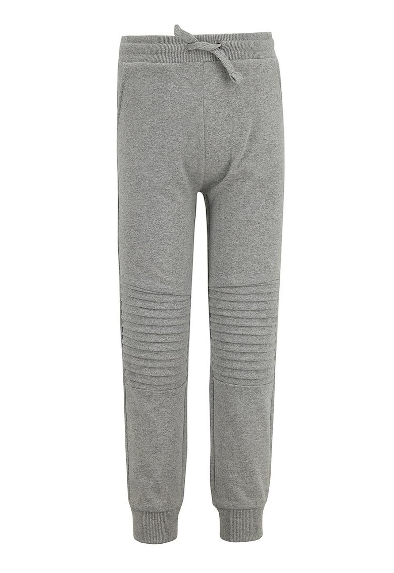 DeFacto Pantaloni sport slim fit cu talie elastica