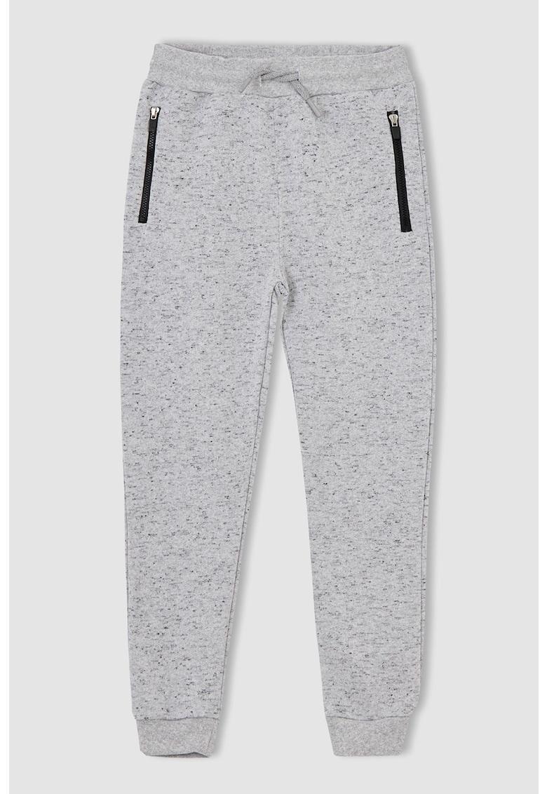 DeFacto Pantaloni sport cu snur si buzunare cu fermoar