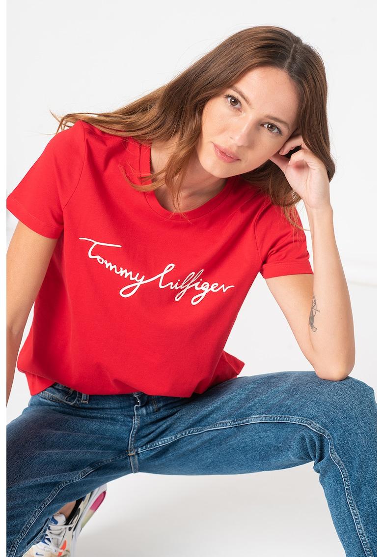 Tommy Hilfiger Tricou de bumbac organic Signature