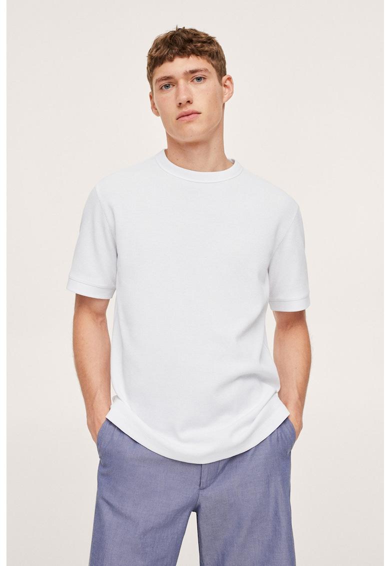 Mango Tricou din tricot cu decolteu la baza gatului Juliant