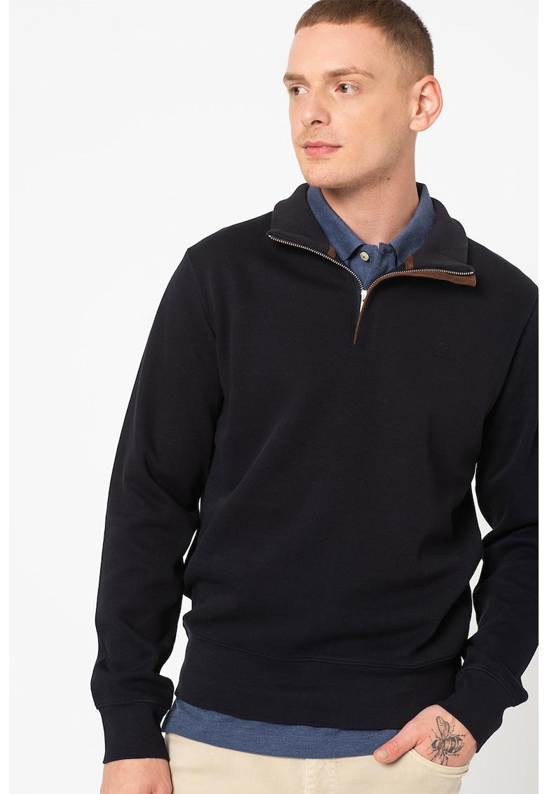 Gant Bluza sport cu fermoar scurt