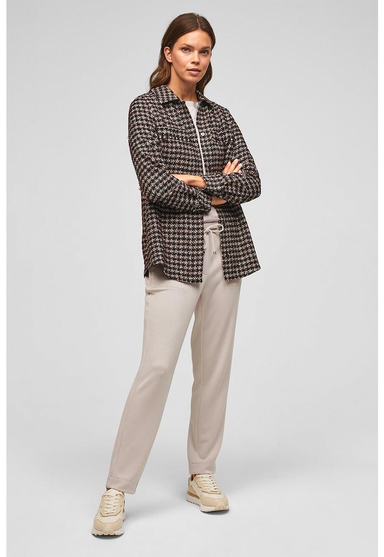 sOliver Pantaloni jogger din jerseu