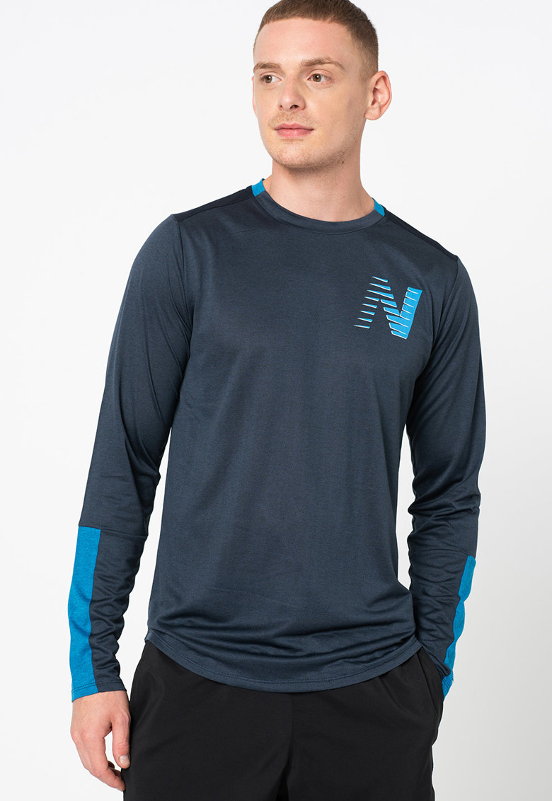 New Balance Bluza cu imprimeu pentru alergare Fast Flight Athletic Fit