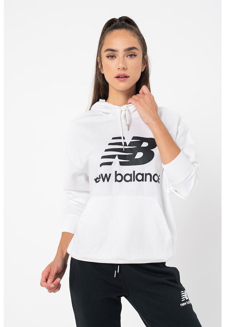 New Balance Hanorac cu imprimeu logo Essentials