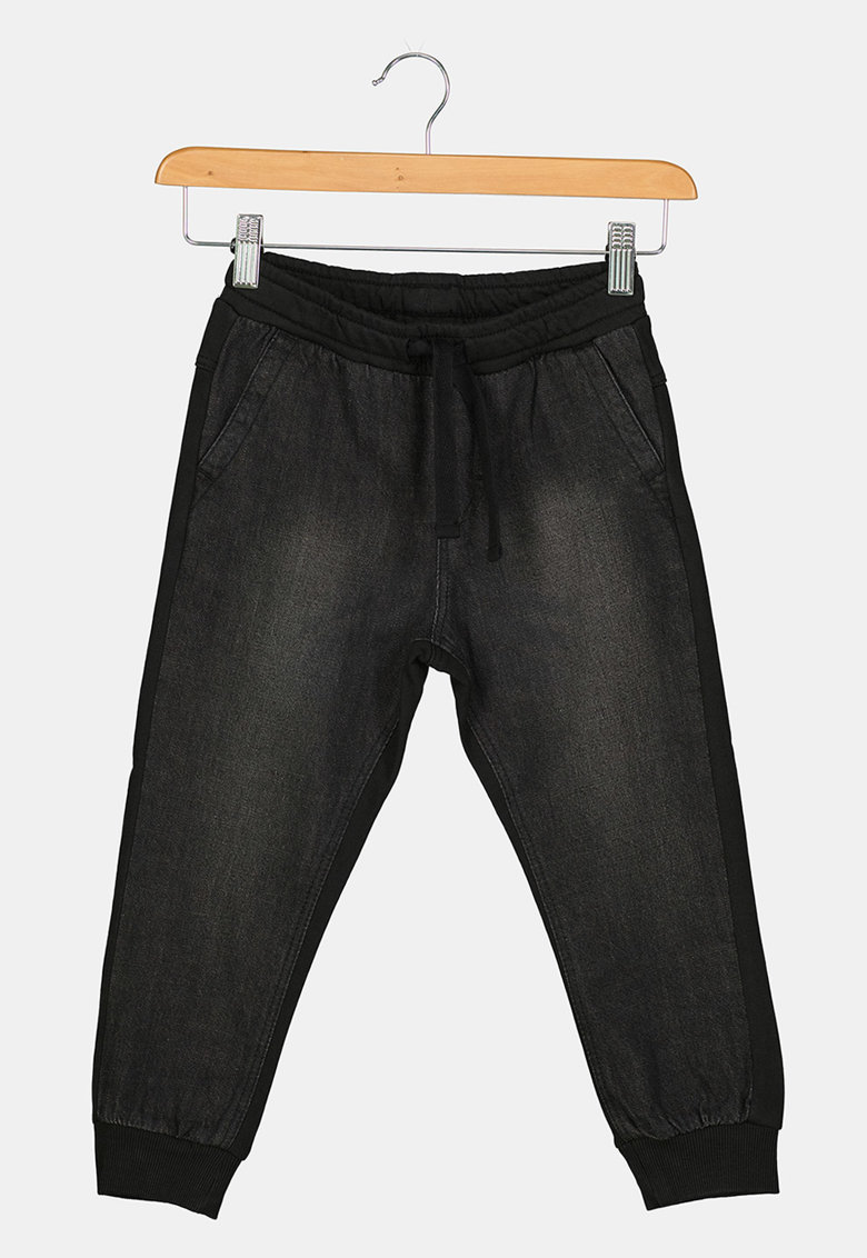 Pantaloni sport din bumbac cu snur de ajustare in talie de la Original Marines