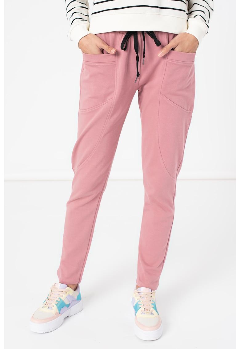 Pantaloni sport din amestec de bumbac Daniella