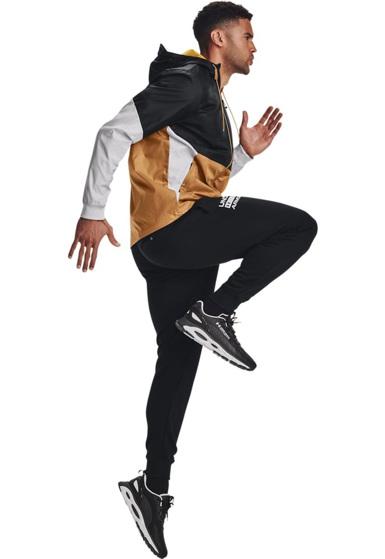 Pantaloni sport cu imprimeu logo Rival