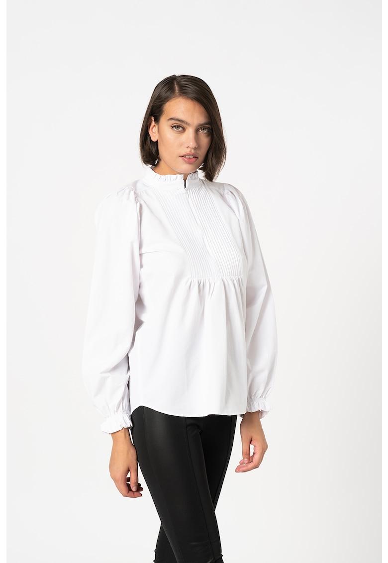 Bluza-tunica cu guler cu volane Meda