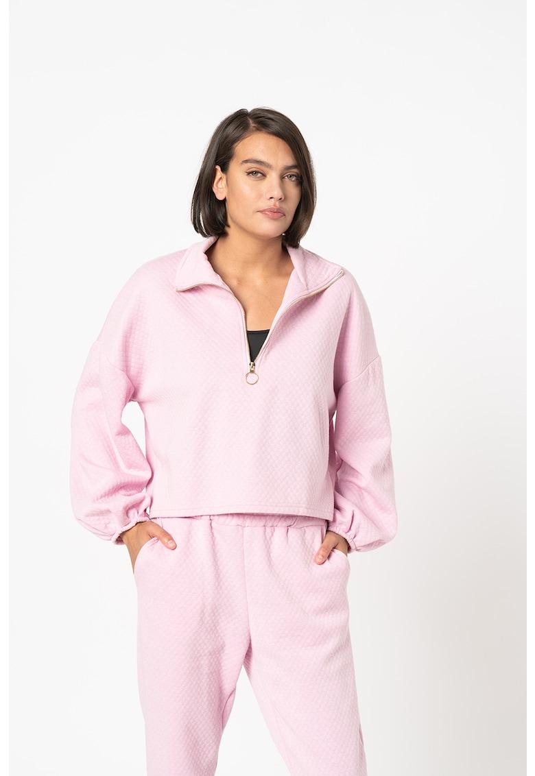 Bluza sport cu aspect matlasat Viasa de la Sisters Point