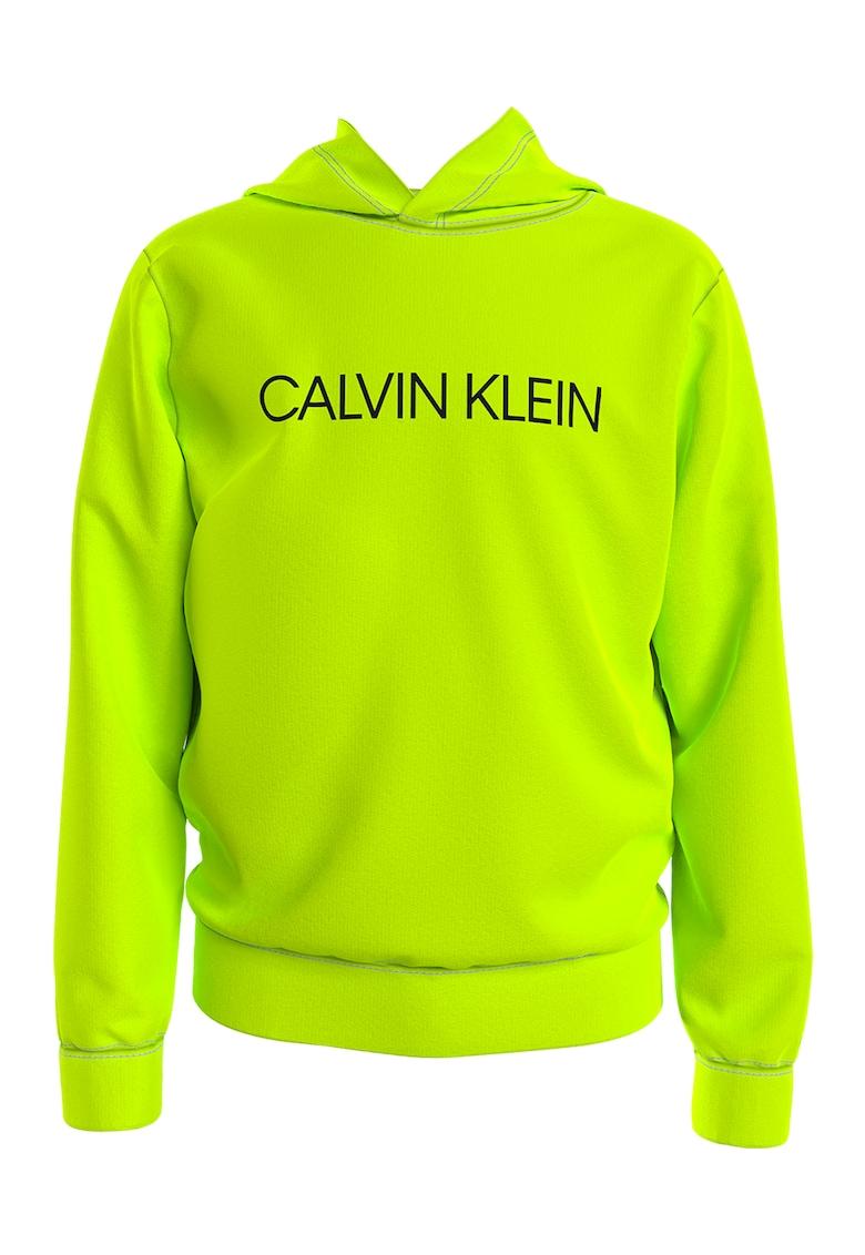 Hanorac de bumbac organic cu logo de la CALVIN KLEIN