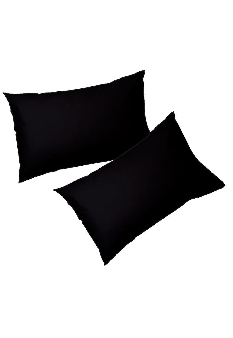 AGLIKA Set 2 fete de perna  50x 70 cm – 100% bumbac – negru