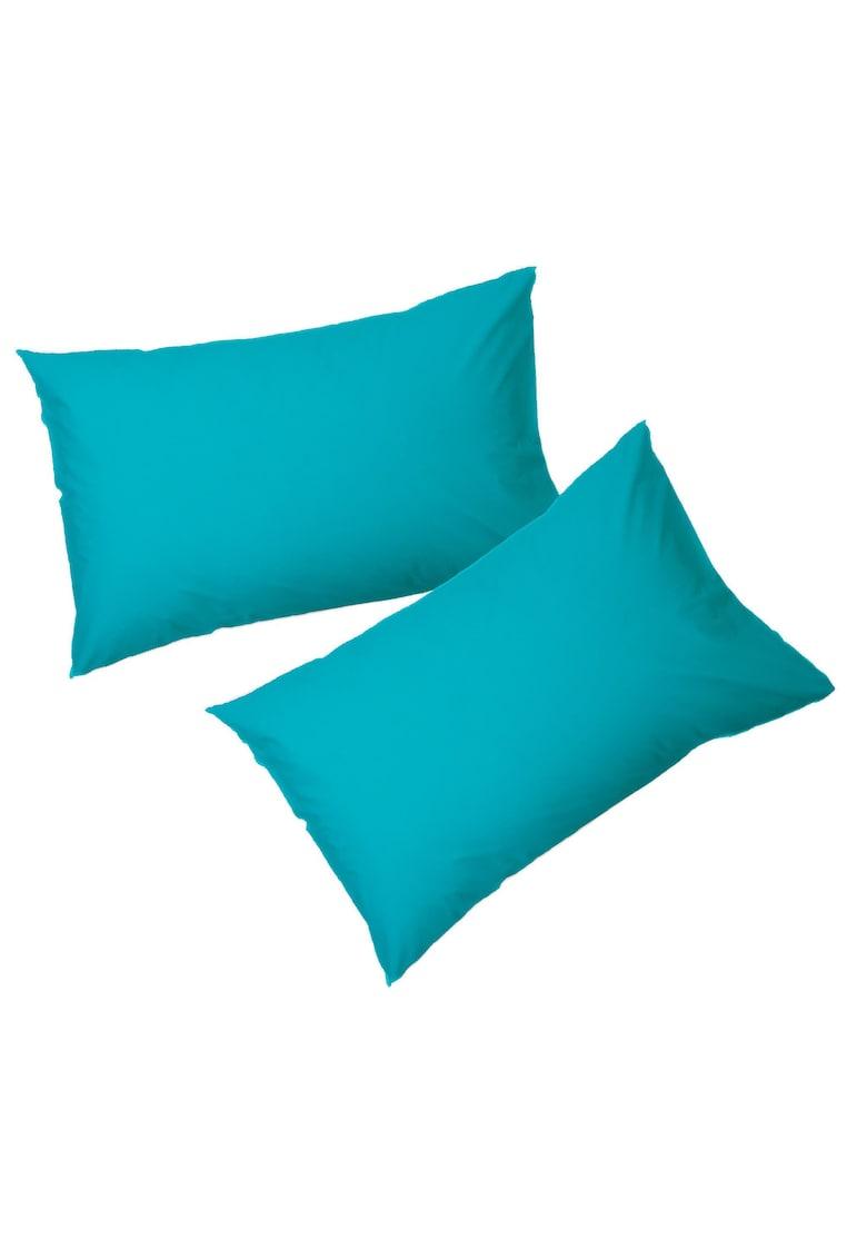 Set 2 fete de perna 50x 70 cm - 100% bumbac - albastru thumbnail