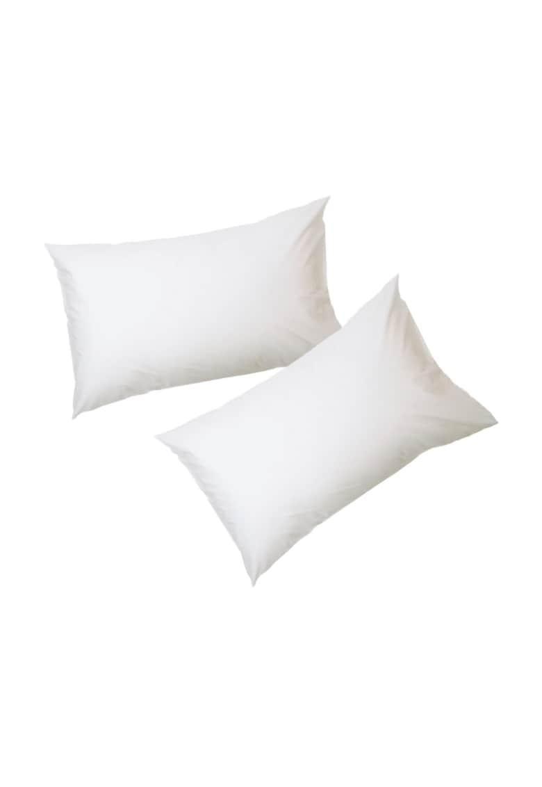 AGLIKA Set 2 fete de perna  50x 70 cm – 100% bumbac – alb