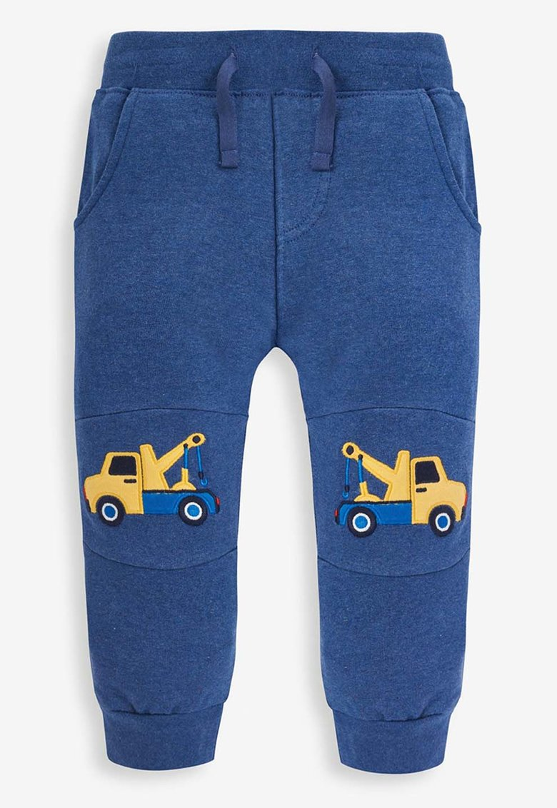 Pantaloni jogger cu buzunare oblice de la JoJo Maman Bebe