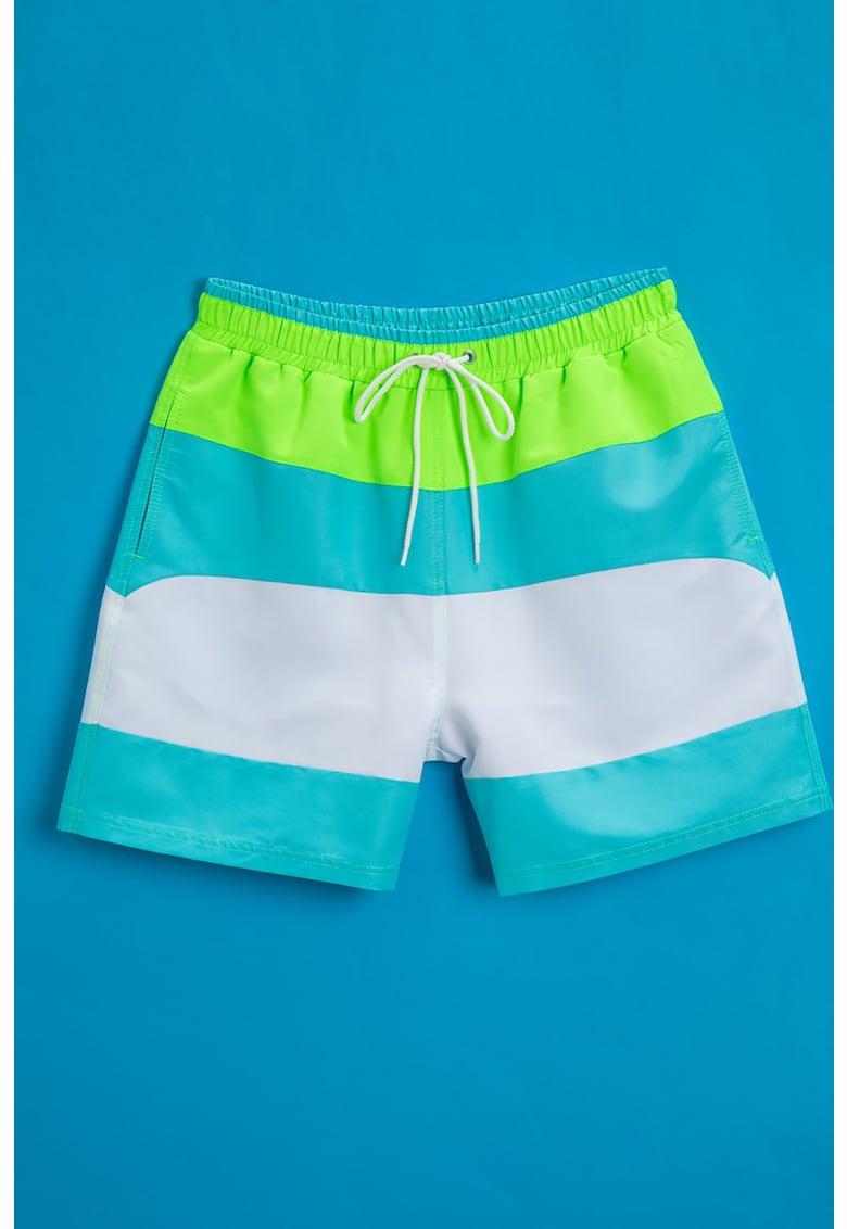 Pantaloni scurti de baie colorblock de la KOTON