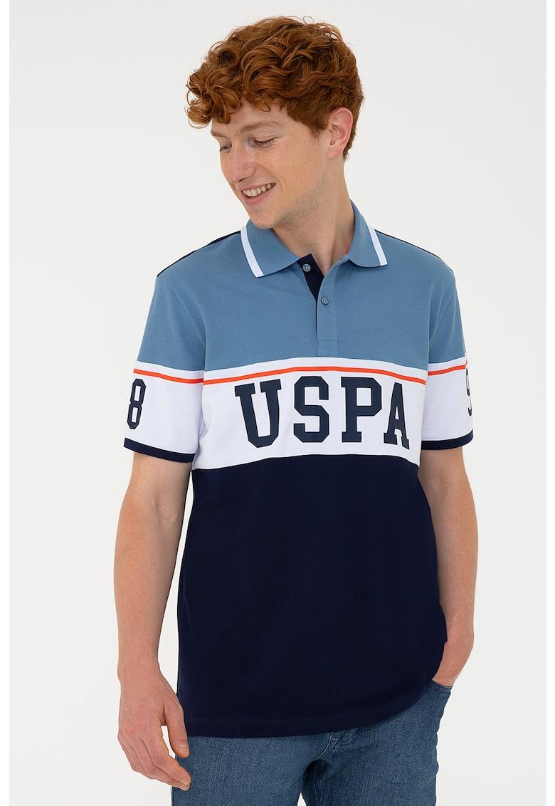 Tricou polo cu imprimeu logo de la US Polo Assn