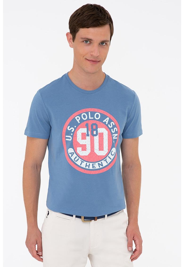Tricou de bumbac cu imprimeu logo de la US Polo Assn