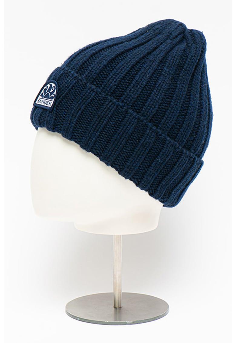 Caciula elastica de lana si casmir Allyn