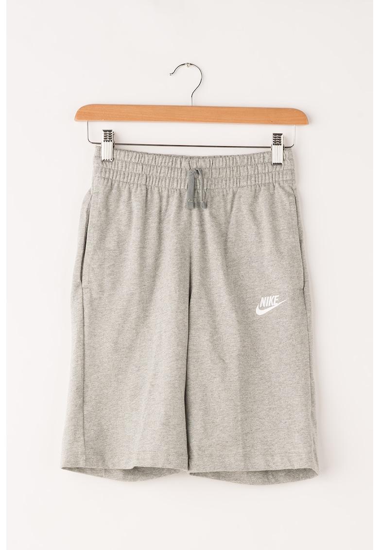 Bermude sport cu snur in talie de la Nike