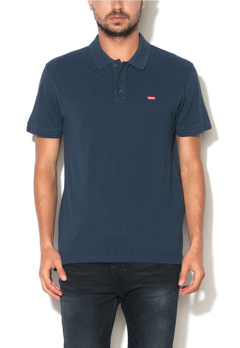 Levis Tricou polo bleumarin cu logo