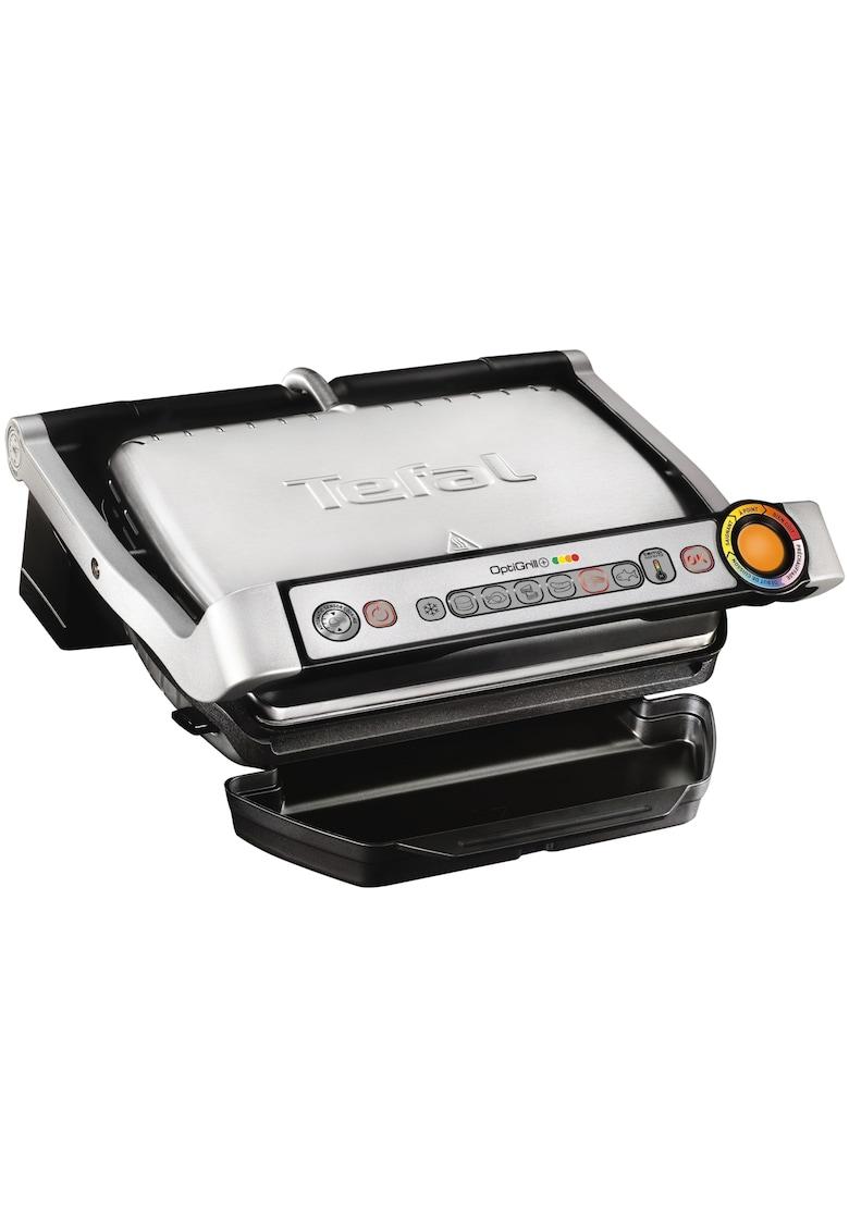 Tefal Gratar electric  OptiGrill+ GC712D34  - 2000 W - 6 programe automate - Inox/Negru