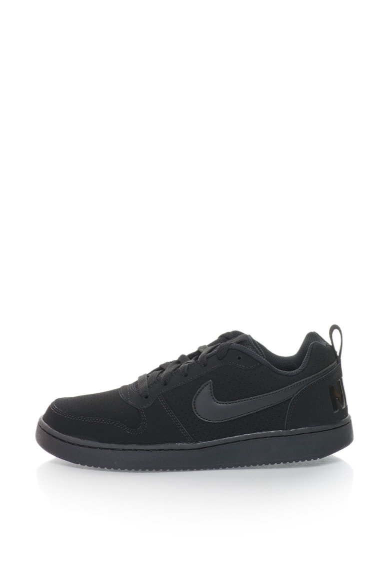 Nike Pantofi sport cu garnituri de piele peliculizata Court Borough