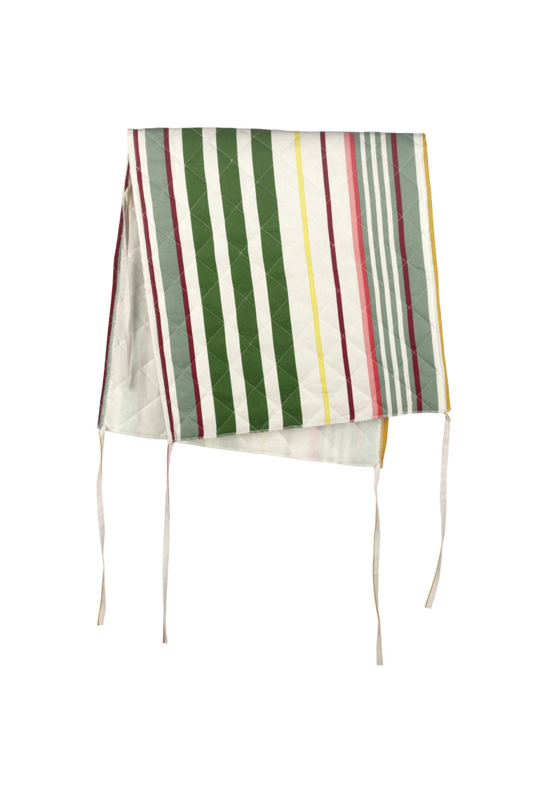 Husa spatar scaun  bumbac - 47x100 cm - Dungi Roz