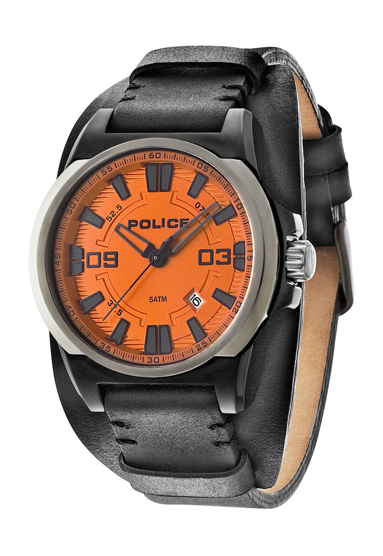 Dayton Narancssárga   Fekete Karóra - Police (PL-14200JSBU-17) d11ec76033