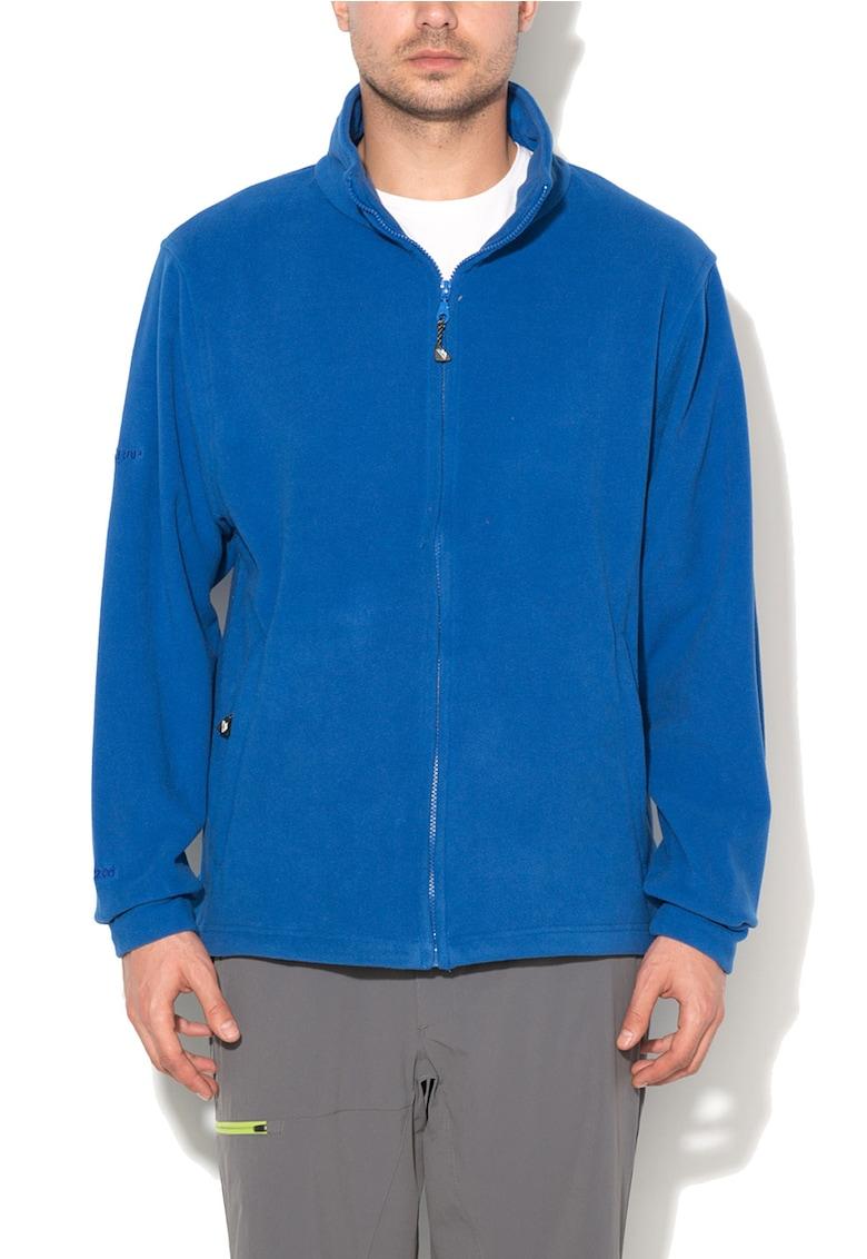 Bluza sport albastru royal de fleece cu fermoar Strength thumbnail