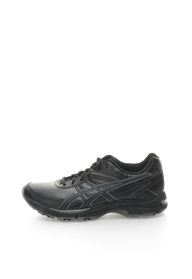Pantofi sport unisex negru &gri carbune Gel Fitwalk