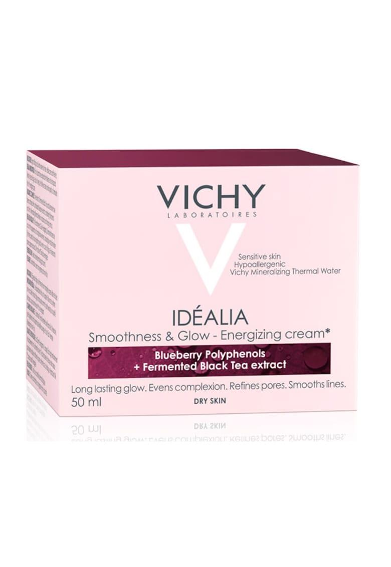 Vichy Crema energizanta  Idealia cu efect de netezire si iluminare a tenului pentru ten uscat - 50 ml