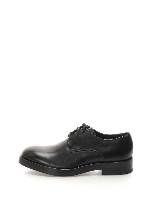 Calvin Klein Pantofi negri de piele cu siret Rabi