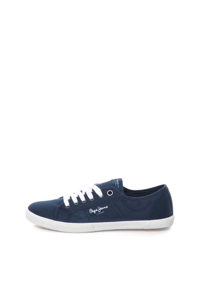Pantofi sport cu logo Aberman Pepe Jeans London